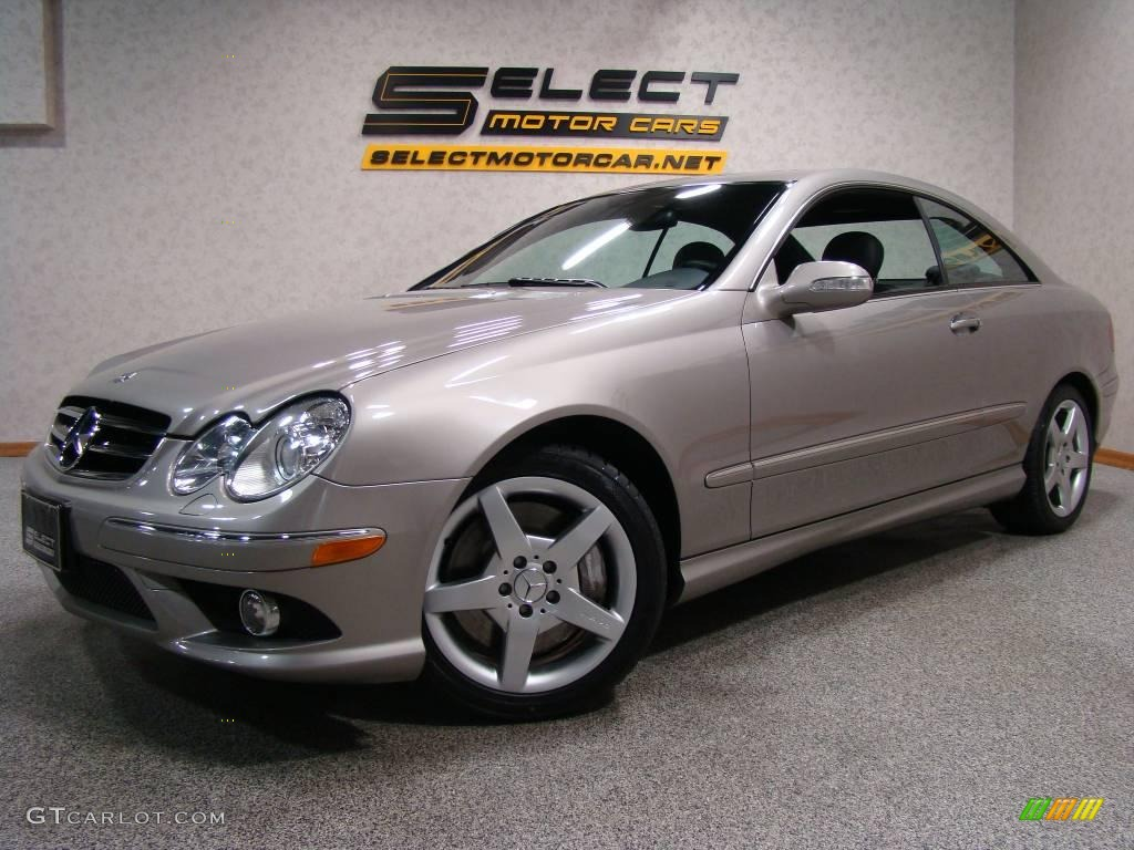 2006 pewter metallic mercedes benz clk 500 coupe 11976109 for 2006 mercedes benz clk 500