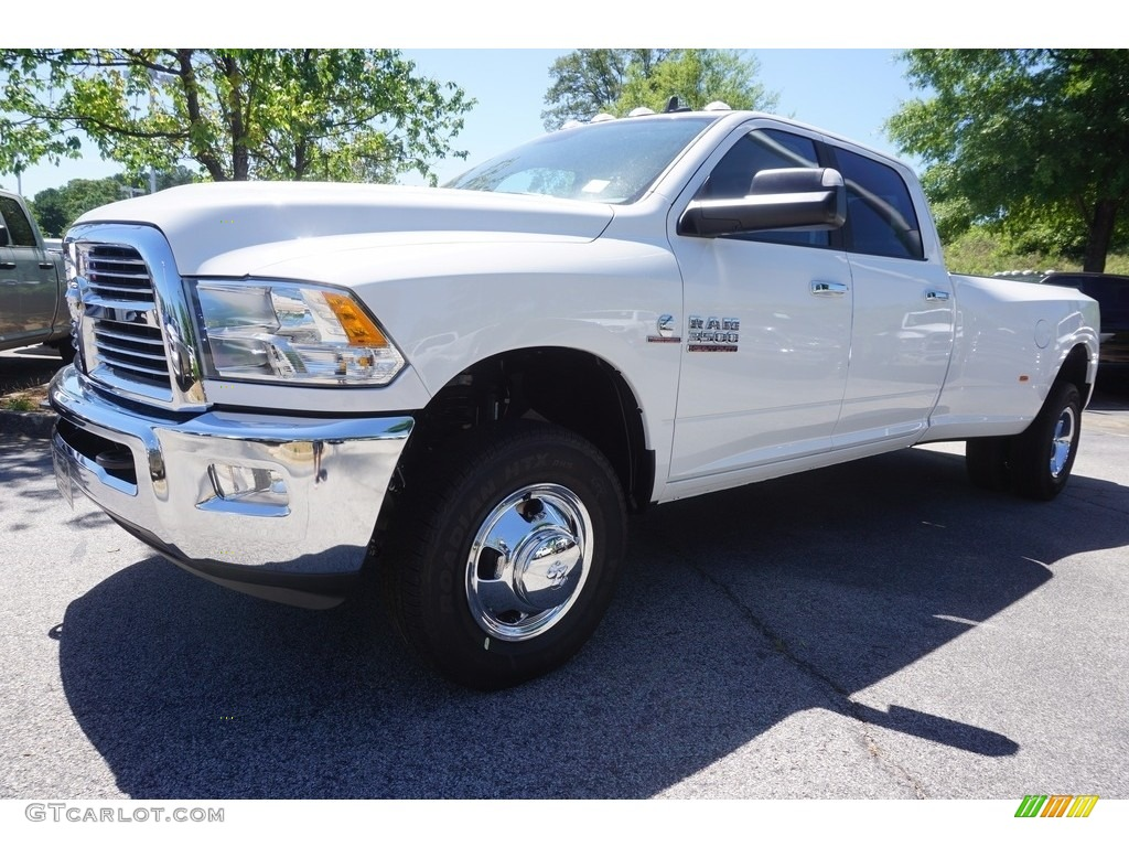 2017 bright white ram 3500 big horn crew cab 4x4 dual rear wheel 120240655 car. Black Bedroom Furniture Sets. Home Design Ideas