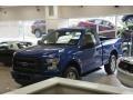 Lightning Blue 2017 Ford F150 XLT Regular Cab 4x4