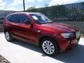 Vermillion Red Metallic 2013 BMW X3 xDrive 28i