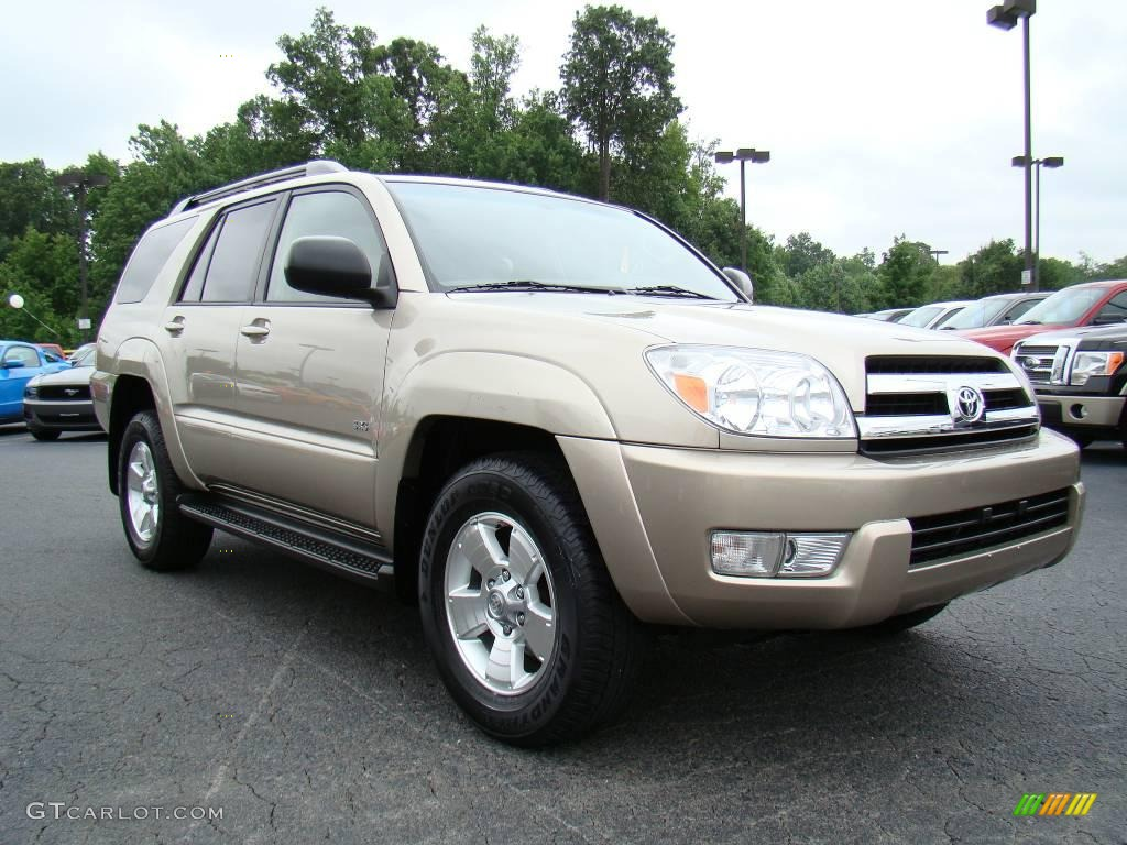2005 dorado gold pearl toyota 4runner sr5 11980561 car color galleries. Black Bedroom Furniture Sets. Home Design Ideas