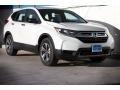 2017 White Diamond Pearl Honda CR-V LX  photo #1