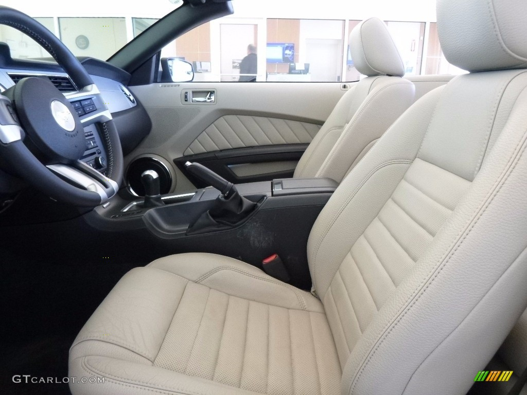 2011 Mustang V6 Premium Convertible - Performance White / Stone photo #6