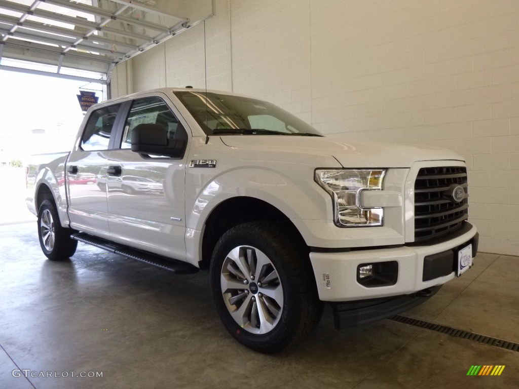 2017 oxford white ford f150 xl supercrew 4x4 120324456 car color galleries. Black Bedroom Furniture Sets. Home Design Ideas