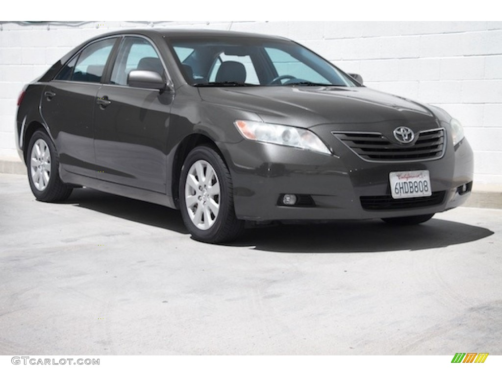 2008 magnetic gray metallic toyota camry xle v6 120324494 photo 3 car color. Black Bedroom Furniture Sets. Home Design Ideas