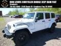 Bright White 2017 Jeep Wrangler Unlimited Sahara 4x4