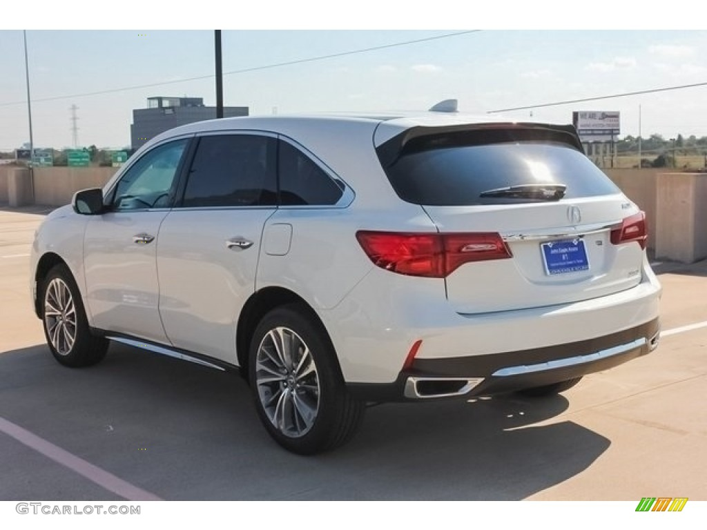 2017 White Diamond Pearl Acura Mdx Technology Sh Awd 120350367 Photo 5 Car