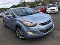 Blue Sky Metallic 2011 Hyundai Elantra Limited