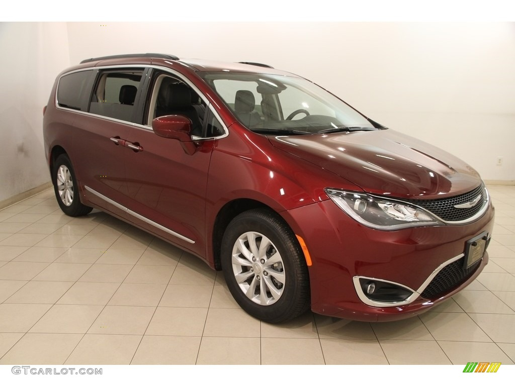 2017 Velvet Red Pearl Chrysler Pacifica Touring L 120350652 Photo 9 Car Color