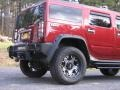 Red Metallic - H2 SUV Photo No. 4