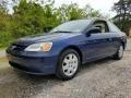 Eternal Blue Pearl 2002 Honda Civic EX Coupe