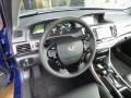 Vortex Blue Pearl - Accord Hybrid EX-L Sedan Photo No. 9