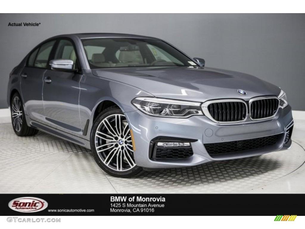 2017 Bluestone Metallic BMW 5 Series 540i Sedan #120423039 ...