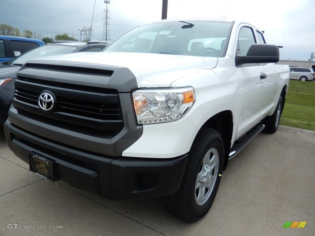 2017 super white toyota tundra sr double cab 4x4 120423082 car color galleries. Black Bedroom Furniture Sets. Home Design Ideas
