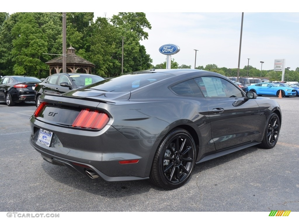 2016 magnetic metallic ford mustang gt premium coupe. Black Bedroom Furniture Sets. Home Design Ideas