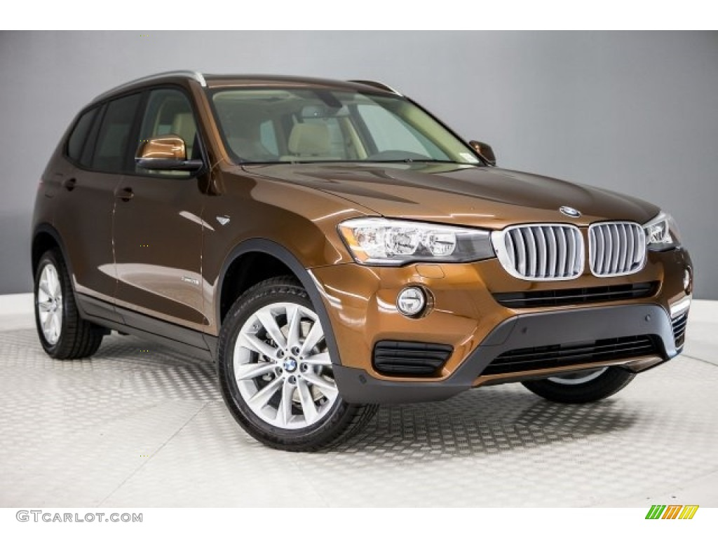 Chestnut Bronze Metallic 2017 Bmw X3 Sdrive28i Exterior Photo 120439468