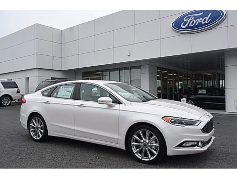 2017 Ford Fusion Platinum Data, Info and Specs
