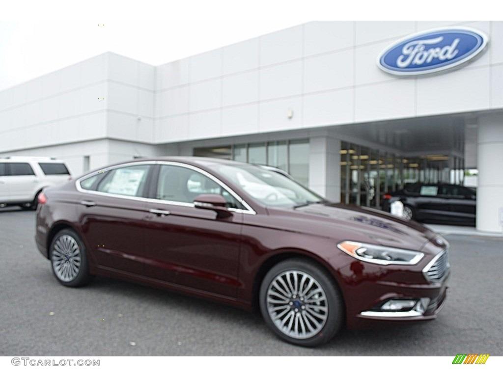 2017 Burgundy Velvet Ford Fusion Se 120422901