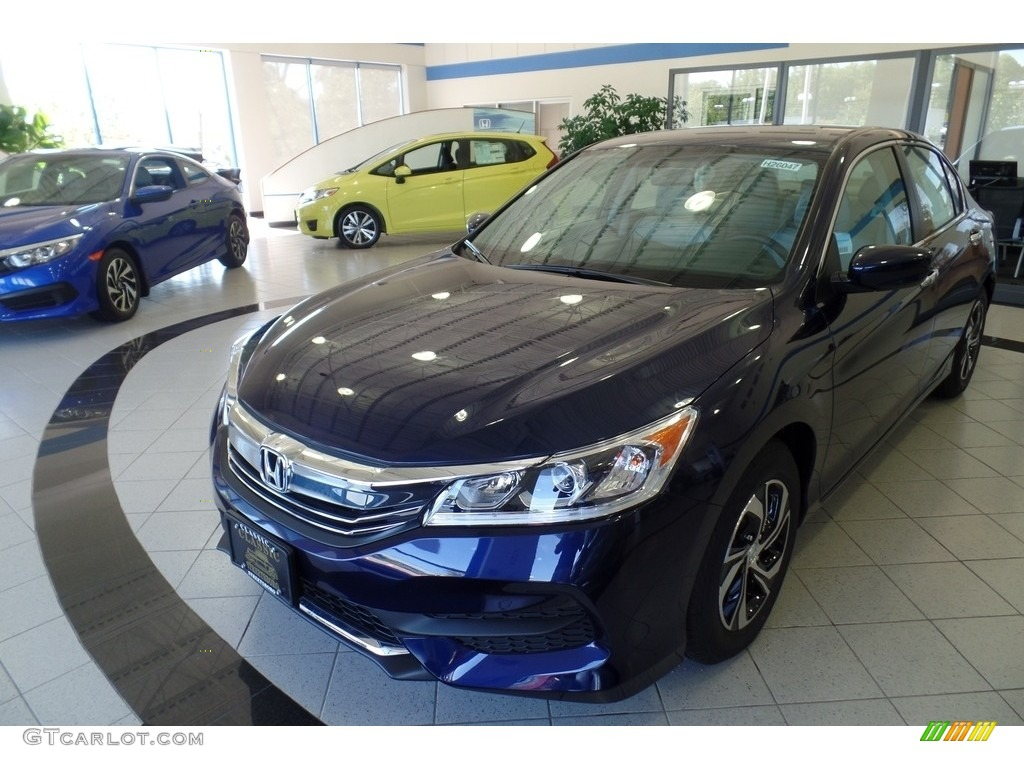 2017 obsidian blue pearl honda accord lx sedan 120423132 car color galleries. Black Bedroom Furniture Sets. Home Design Ideas
