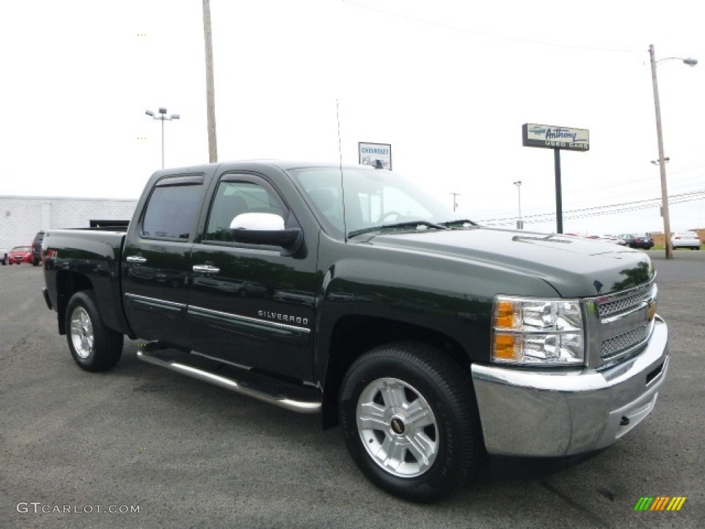 Woodland Green Chevrolet Silverado 1500