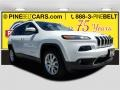 Bright White 2014 Jeep Cherokee Limited 4x4
