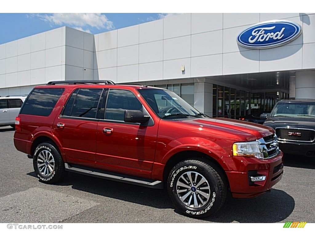 Ruby Red Ford Expedition