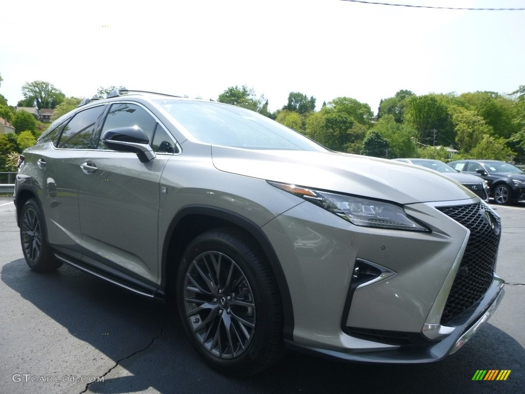 2017 atomic silver lexus rx 350 f sport awd 120488174 photo 12 car color. Black Bedroom Furniture Sets. Home Design Ideas