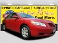 Barcelona Red Metallic 2007 Toyota Camry LE