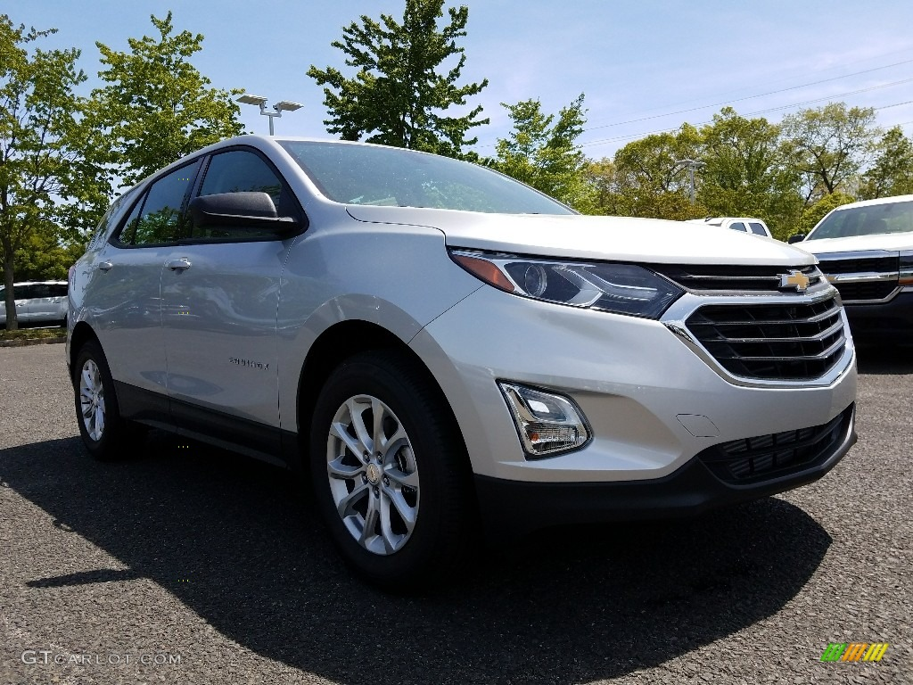 2018 silver ice metallic chevrolet equinox ls awd 120488086 car color galleries. Black Bedroom Furniture Sets. Home Design Ideas