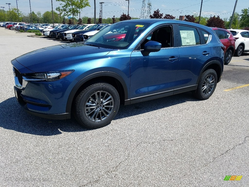 2017 blue reflex mica mazda cx 5 sport awd 120488355 car color galleries. Black Bedroom Furniture Sets. Home Design Ideas