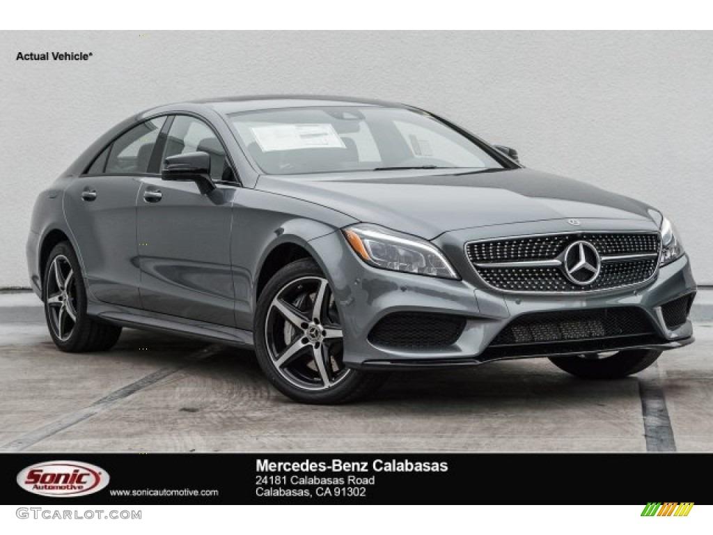 2017 Cls 550 Coupe Selenite Grey Metallic Black Photo 1
