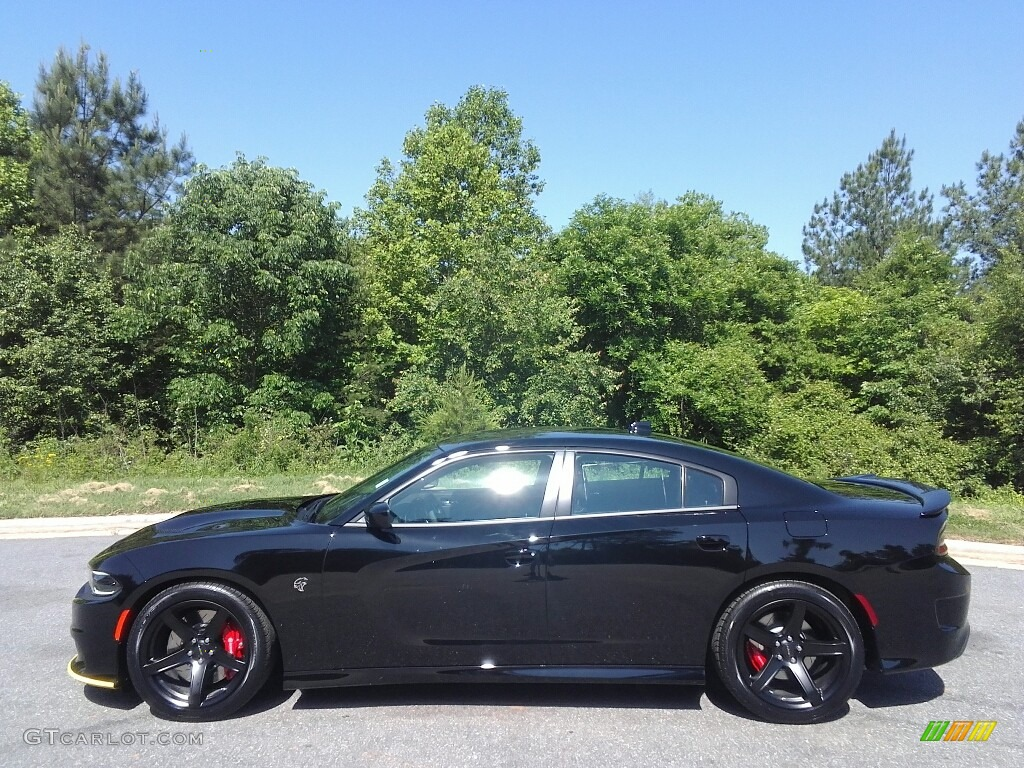 2017 Pitch-Black Dodge Charger SRT Hellcat #120512122 ...