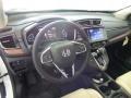 2017 White Diamond Pearl Honda CR-V Touring AWD  photo #9