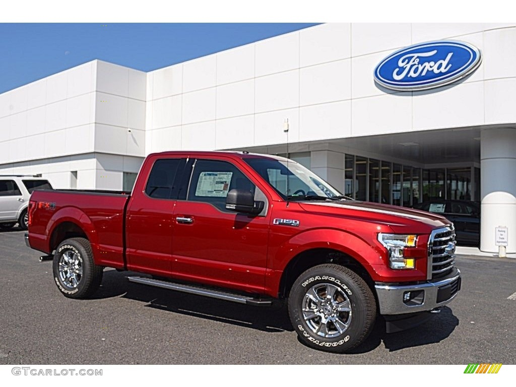 2017 ruby red ford f150 xlt supercab 4x4 120512273 photo 8 car color galleries. Black Bedroom Furniture Sets. Home Design Ideas