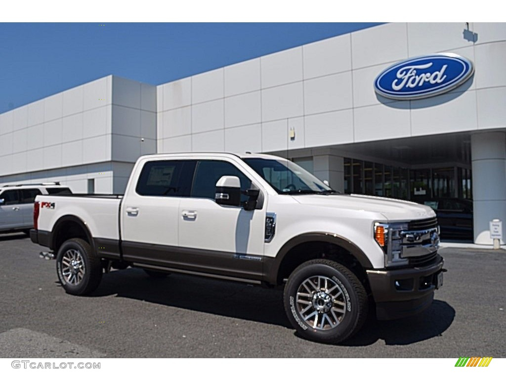 2017 white platinum ford f250 super duty king ranch crew cab 4x4 120512270 photo 14 gtcarlot. Black Bedroom Furniture Sets. Home Design Ideas