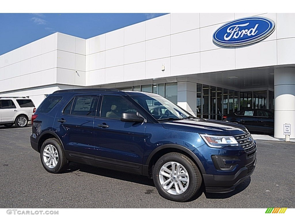 Blue Jeans 2017 Ford Explorer FWD Exterior Photo #120528863