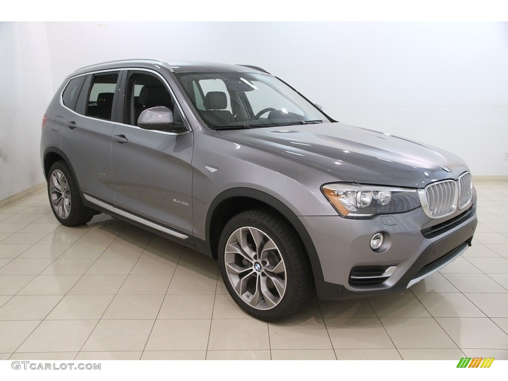 2017 space gray metallic bmw x3 xdrive28i 120534897 car color galleries. Black Bedroom Furniture Sets. Home Design Ideas