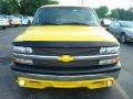 2001 Yellow Chevrolet Silverado 1500 Regular Cab  photo #3