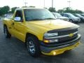 2001 Yellow Chevrolet Silverado 1500 Regular Cab  photo #4