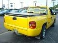 2001 Yellow Chevrolet Silverado 1500 Regular Cab  photo #5