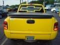 2001 Yellow Chevrolet Silverado 1500 Regular Cab  photo #6