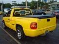 2001 Yellow Chevrolet Silverado 1500 Regular Cab  photo #7