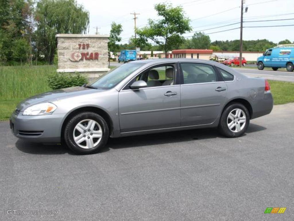 2006 Impala LS - Dark Silver Metallic / Neutral Beige photo #1
