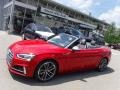 Tango Red Metallic 2018 Audi S5 Premium Plus Cabriolet