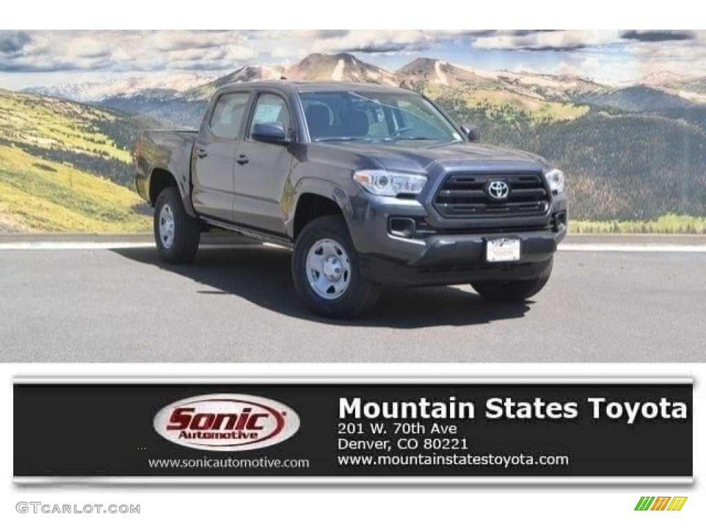 2017 magnetic gray metallic toyota tacoma sr double cab. Black Bedroom Furniture Sets. Home Design Ideas