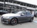 Daytona Gray Pearl 2018 Audi S4 Premium Plus quattro Sedan