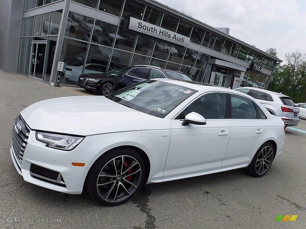 2018 Glacier White Metallic Audi S4 Premium Plus Quattro