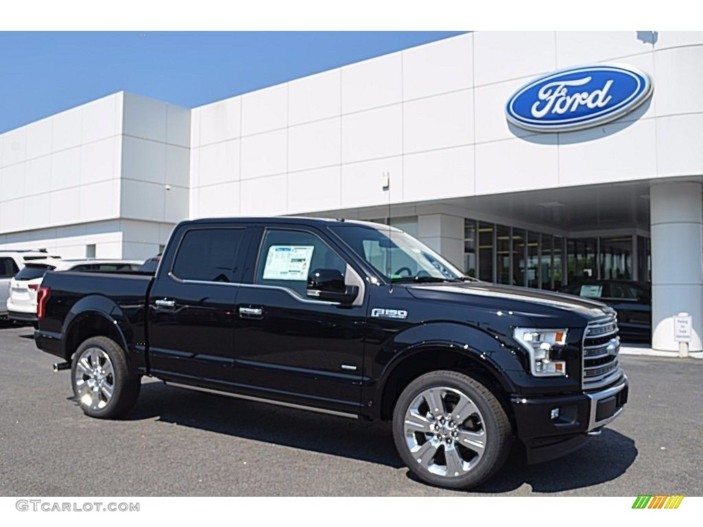 2017 shadow black ford f150 limited supercrew 4x4. Black Bedroom Furniture Sets. Home Design Ideas