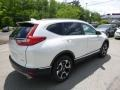 2017 White Diamond Pearl Honda CR-V Touring AWD  photo #4