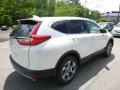 2017 White Diamond Pearl Honda CR-V EX-L AWD  photo #4